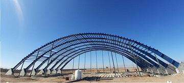 تحویل پروژه احداث آشیانه بالگرد امداد هوایی جمعیت هلال احمر استان اردبیل